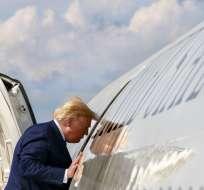 Trump propone un control de armas más estricto vinculado a una reforma migratoria. Foto: AP