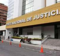 Este periodo se dio a los jueces de la Corte Nacional que estaban con licencia. Foto: Archivo Medios Públicos