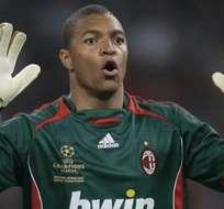 Dida, exportero del AC Milan.