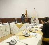ECUADOR.- Comisión de Fiscalización elabora informe del primero de dos procesos de juicio político. Foto: API