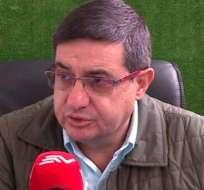 Santiago Morales, dirigente de IDV.