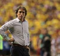Almada en su paso por Barcelona SC.