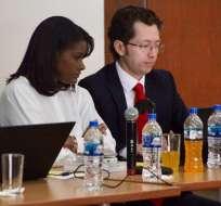La fiscal Salazar los calificó de autores. Foto: Fiscalía
