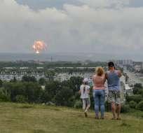 Dos muertos por una explosión en una base de misiles en Rusia. Foto: AP