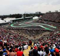 Pista de la Fórmula 1 en México.