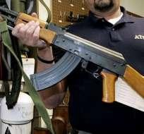 Mandatario recalcó su apoyo al poderoso lobby de la Asociación Nacional de Rifle. Foto: Archivo AP