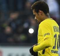 Neymar, figura del PSG.