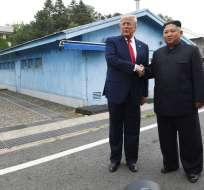 Trump: Kim quiere volver a reunirse y se disculpa por misiles. Foto: AP