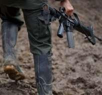 Dos indígenas muertos en enfrentamiento con disidencia de FARC en Colombia. Foto: AFP - Referencial