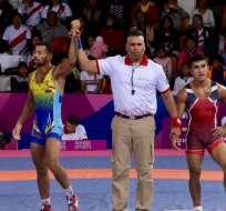 Mauricio Sánchez, en el momento de su victoria.