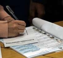 Argentina acude a primarias, ensayo de elecciones presidenciales. Foto: AFP