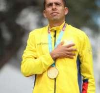 Claudio Villanueva, medallista panamericano.