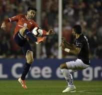 El equipo ecuatoriano necesita ganar 1-0 para pasar a la siguiente ronda. Foto: JUAN MABROMATA / AFP