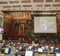 Tuárez, Gómez, Desintonio y Chalá son acusados de incumplimiento de funciones. Foto: Flickr Asamblea