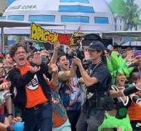 Fans de 'Dragon Ball' logran un Récord Guinness.