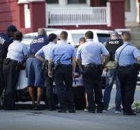 Al menos 6 policías heridos en tiroteo en EEUU. Foto: AP