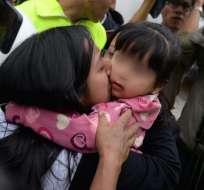 La niña fue secuestrada por 2 mujeres, una de ellas menor de edad. Foto: API