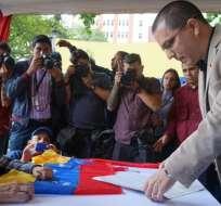 Canciller Arreaza se reunirá con delegados de Noruega, mediadores de conversaciones. Foto: Twitter Cancillería Venezuela