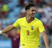 Leonardo Campana, delantero 'Tricolor'.