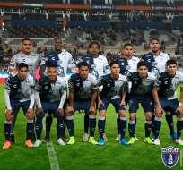 El atacante ecuatoriano convirtió el segundo tanto en el triunfo 4-1 ante Xolos de Tijuana. Foto: Archivo