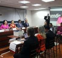QUITO, Ecuador.- Este lunes, se realizó el sorteo de 180 sentencias, que serán analizadas por el Comité evaluador. Foto: API