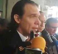 GUAYAQUIL, Ecuador.- El abogado guayaquileño denuncia un presunto mal uso de aeronaves policiales. Foto: Twitter