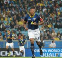 Antonio Valencia, figura ecuatoriana.