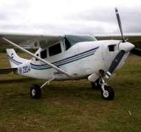 La aeronave pertenece a compañía Amazonía Verde, según DAC. Foto referencial / Internet