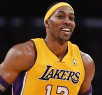 Dwight Howard en su primera etapa como 'Lakers'.