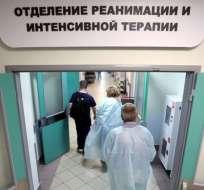 El hospital de Arcángel recibió tres víctimas de radiación.