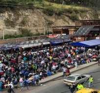 Ingreso de migrantes subió de 1.500 a 7 mil a días de diferencia. Foto: Cortesía/CaraotaDigital
