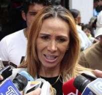 Lucía Vallecilla, directiva de El Nacional.