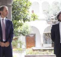 QUITO, Ecuador.- El Gobierno anunció la adquisición de dos nuevas bandas para mejorar la conectividad. Foto: API