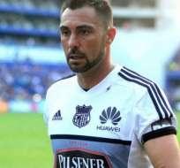 Esteban Dreer, portero de Emelec.