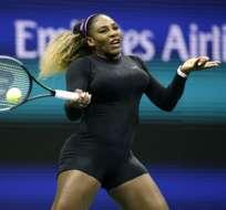 La estadounidense venció a Maria Sharapova, mientras que Federer superó al indio Nagal. Foto: KENA BETANCUR / AFP
