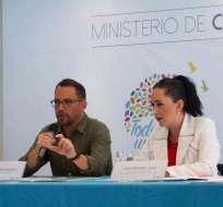 ECUADOR.- Según el ministro de Cultura, la oferente habría falsificado documentos en el proceso. Foto: Twitter