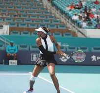 Venus Williams en un entrenamiento. Foto: Twitter Venus W.