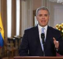 COLOMBIA.- El presidente Iván Duque anunció la creación de una unidad especial para perseguir a los disidentes del video.