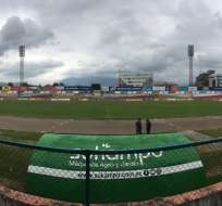 Estadio Alejandro Serrano Aguilar. Foto: Twitter: @ICEXEcuador