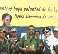 Unos 7.000 rebeldes se desarmaron como parte del acuerdo, ahora considerado por los disidentes como un fracaso.
