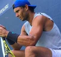 Rafael Nadal en el US Open. Foto: Twitter Rafael Nadal.