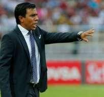 César Farías aseguró que su selección no anotó por la buena participación del portero. Foto: API