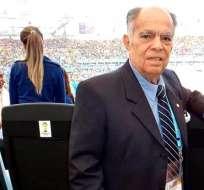 Doctor Ferdinand Hidalgo, ex presidente de Emelec.