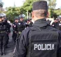 Detienen en El Salvador banda de tráfico de migrantes a EEUU. Foto: AFP