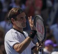 El suizo venció en tercera ronda al británico Daniel Evans. Foto: KENA BETANCUR / AFP