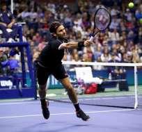 Roger Federer sigue en el US Open.