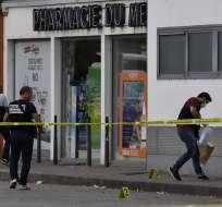 Un muerto y 9 heridos en agresión con arma blanca en Francia. Foto: AFP