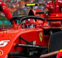 Charles Leclerc previo a una carrera en F1. Foto: Twitter Charles Leclerc.