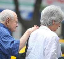 El pago con bonos a jubilados superó los $100 millones. Foto: Referencial
