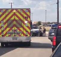 Al menos cinco muertos en tiroteo en Texas. Foto: Redes